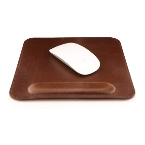 Londo Leather Mousepad with Wrist Rest - Best Mouse Pad for Magic Mouse: Stylish and Practical