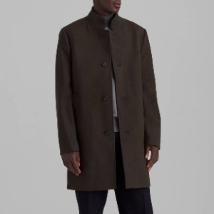 Club Monaco Loukas Coat  - Best Coats for Men: Four Non Functioning Buttons at Cuffs