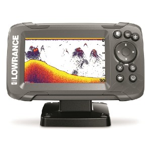 Lowrance HOOK2-4x Fish Finder with Bullet Transducer and GPS Plotter - Best Fish Finders GPS Combo:  4
