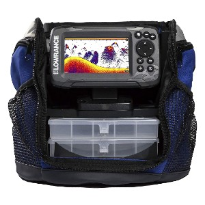 Lowrance HOOK2 Fish Finder - Best Fish Finders for Ice Fishing: High CHIRP Side and Down Scan Imaging