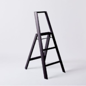 Hasegawa Ladders Lucano Lightweight Japanese Step Ladder - Best Ladders for Home Use: With a Powder-Coated Finish