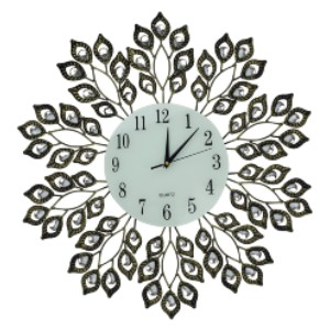 Lulu Decor Antique Metal Wall Clock - Best Wall Clock for Living Room: A Stylish Wall Clock for Living Room