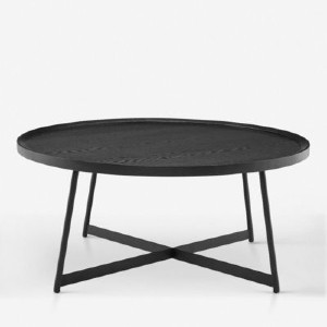Lulu and Georgia GWENETH ROUND COFFEE TABLE - Best Coffee Table for Sectional: Classic Coffee Table