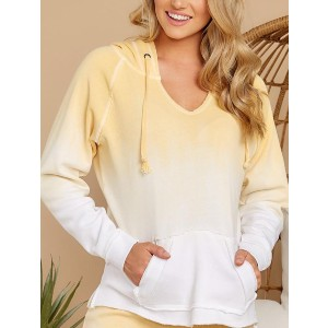 Lulacola Ombre Drawstring Hoodie - Best Lightweight Hoodie: Soft and Lightweight Hoodie