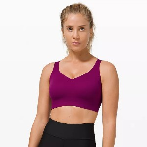 Lululemon Enlite Bra Weave High Support - Best Sports Bra High Support: Smooth and Soft Stretchy Fabric Sports Bra