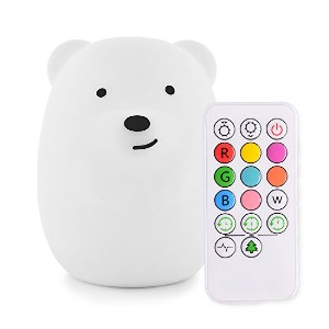 LumiPets Night Light with Touch Sensor and Remote - Best Night Light for Sleep: Comes with remote control