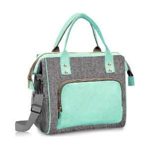 IDEATECH Lunch Bags for Women - Best Lunch Box with Ice Pack: Thermal Insulated and Leakproof