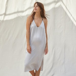 Lunya Washable Silk Slip Dress - Best Silk Sleepwear: Super versatile