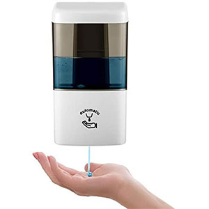 Lushagina Automatic Hand Sanitizer Dispenser  - Best Hand Sanitizer Dispenser: Adjustable Dispensing Volume and Easy Install