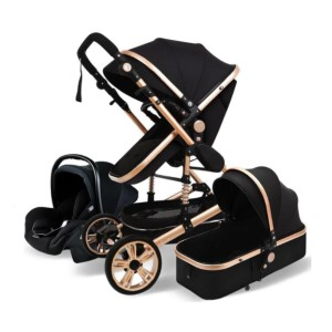 Maternity Miracles Luxury Maternity 3 in 1 - Best Strollers for Newborns: High-End Stylish Luxury Stroller