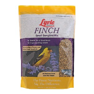 Lyric Finch Small Songbird Wild Bird Mix - Best Bird Food to Attract Colorful Birds: All-Natural Ingredients Food
