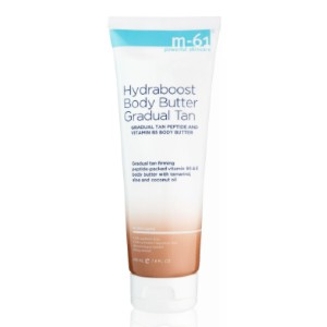 M-61 Hydraboost Body Butter Gradual Tan - Best Self Tanning Water: Helps to Reduce The Appearance of Cellulite