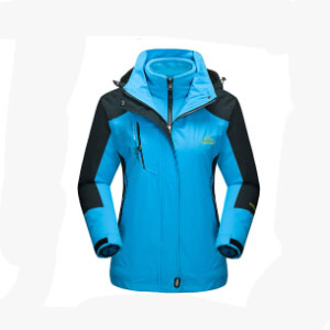MAGCOMSEN Women's Outdoor 3-IN-1  - Best Rain Jackets for Scotland: Stretchy Fabric
