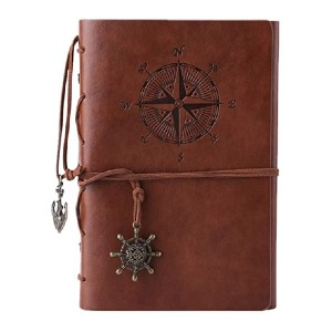 MALEDEN Refillable Spiral Daily Notepad - Best Notebook for Travel Journal: It is refillable!