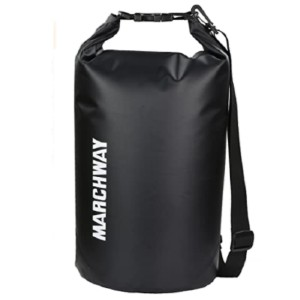 MARCHWAY  Floating Waterproof Dry Bag - Best Waterproof Backpack for Fishing: Easy Operation and Cleaning