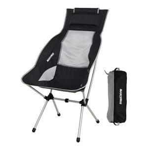 MARCHWAY High Back Camping Chair  - Best Folding Chair for Back Support: Great design