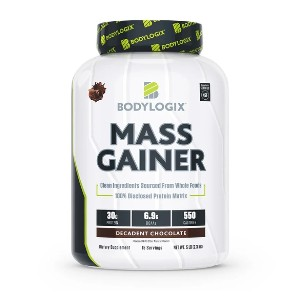 Bodylogix Mass Gainer - Best Mass Gainer Protein: No Artificial Colors, Flavors, or Sweeteners