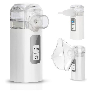 MAYLUCK Handheld Mini Nebuliser for Home Use - Best Home Nebulizers: Excellent LED indicator