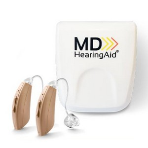 MDHearingAid CORE - Best Hearing Aid with Noise Cancellation: Create customized profiles