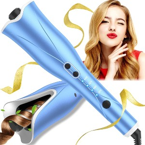 MELOPHY Automatic Curling Iron Wand - Best Curling Iron Automatic: Ergonomically Iron Wand