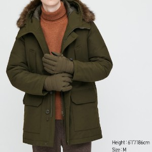 Uniqlo MEN ULTRA WARM DOWN COAT - Best Coats for Men: With an Added Water-Repellent Coating
