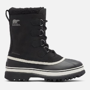 Sorel CARIBOU - Best Boots for Ice Fishing: Seam-Sealed Waterproof Construction