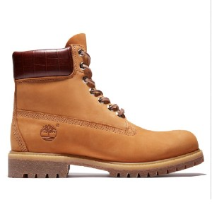 Timberland MEN'S SAFARI CROCODILE - Best Boots for Men: Waterproof Boots Feature Premium Nubuck Leathers
