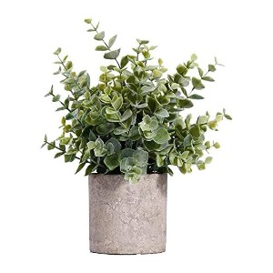 MIAIU Small Potted Artificial Plants - Best Artificial Plants on Amazon: Bring Green Life and Freshness