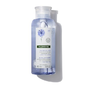 Klorane MICELLAR WATER WITH ORGANICALLY FARMED CORNFLOWER - Best Eye Makeup Removers: Ideal for Even the Most Sensitive Eyes and Skin