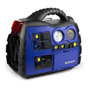 Michelin ML0728 - Best Jump Starters with Air Compressors: It has Bluetooth connectivity!