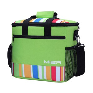 MIER Soft Cooler Tote Insulated Lunch Bag  - Best Cooler Bags for Beach: It isn't bulky