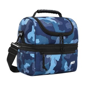MIER Adult Lunch Box Insulated Lunch Bag - Best Lunch Cooler for Work: Warm or cold? Both