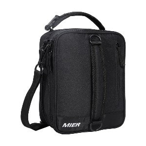 MIER Insulated Lunch Box Bag - Best Lunch Box with Ice Pack: Leakproof When Carried Flat