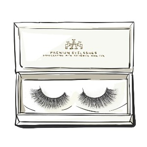 Artemes MISTAKEN IDENTITY - Best Lashes for Big Eyes: Features A Criss-Crossed Design