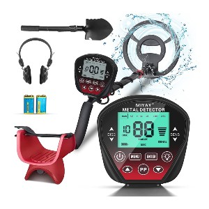 MIYAY Professional Metal Detector  - Best Gold Nugget Detector: Adult and Children Detector