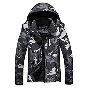 MOERDENG Men's Mountain Raincoat - Best Raincoats for Hiking: Fights the bad weather in a cool way
