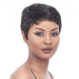Vogue Wigs MOLLY  - Best Human Hair Wigs for African American: Easy to Wear Style