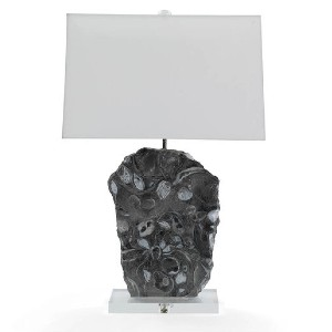 Mitchell Gold + Bob Williams Moran Gray Marble Table Lamp - Best Lamp for Livingroom: Gives natural and modern touch