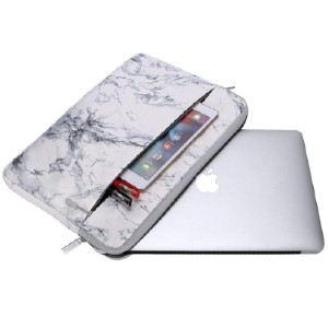 Canvaslife Marble Pattern 360 Degree Protective - Best Laptop Cases: Waterproof canvas laptop case