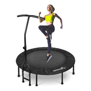 MOVTOTOP Foldable Mini Trampoline Rebounder - Best Trampoline for Exercise: The installation is a breeze