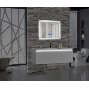 MTD Vanities Encore BLU102 - Best Mirror for Bathroom: Sleek and Modern Design Adds A Chic Touch to Your Home