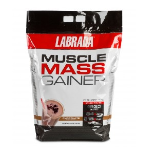 Labrada MUSCLE MASS GAINER 12LB - Best Mass Gainer Protein: Contains No Dextrose, Sucrose or Corn Syrup Solids
