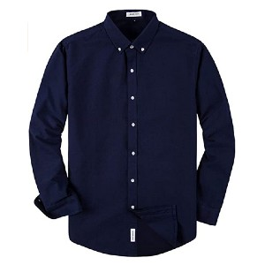 MUSE FATH Men's Oxford Dress Shirt-Cotton Casual  - Best Party Dress for Man: Comfy and versatile