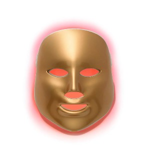 MZ Skin Light Therapy Golden Facial Treatment Device - Best Light Therapy Mask for Dark Spots: Light-Therapy Treatment