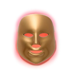 MZ Skin Light Therapy Golden Facial Treatment Device  - Best Light Therapy Mask for Rosacea: Various Light Settings