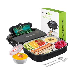 MaMahome Bento Box - Best Lunch Boxes for Adults: Stainless Steel Bento Box Leak-Proof