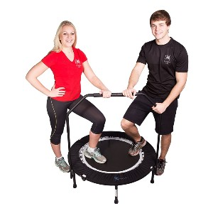 MXL MaXimus Life MaXimus PRO Folding Rebounder USA - Best Trampoline for Kids and Adults: Gives you a gym feeling
