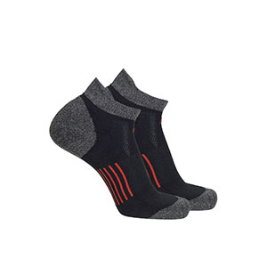 Macpac COOLMAX® Run Anklet Socks - Best Socks for Men: Wide Elastic Arch to Prevent Ride Down