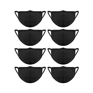 Madholly Cotton Mouth Masks with Nose Bridge Wire - Best Masks for Glasses Wearers: A Mask with Elastic Bands