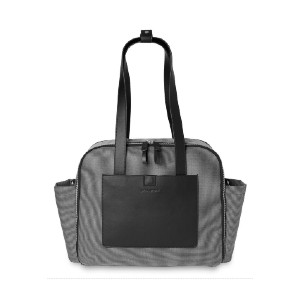 Skip Hop Madison Square Diaper Tote - Best Tote Diaper Bags: Back Zip Pocket is Great for Diaper Change Essentials
